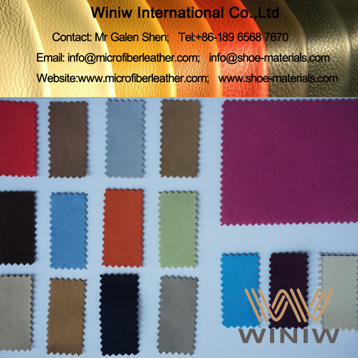 Microfiber Suede Leather Fabric