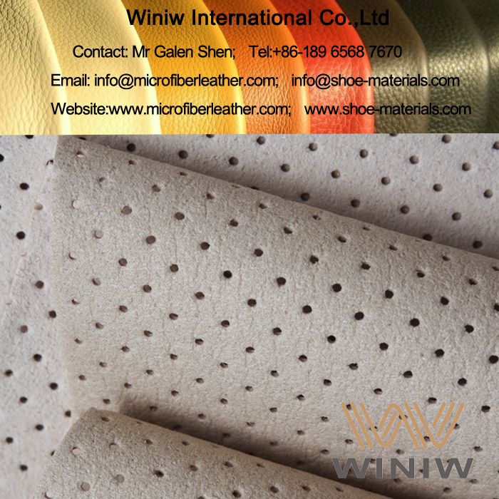 Punching Hole Microfiber Shoe Lining