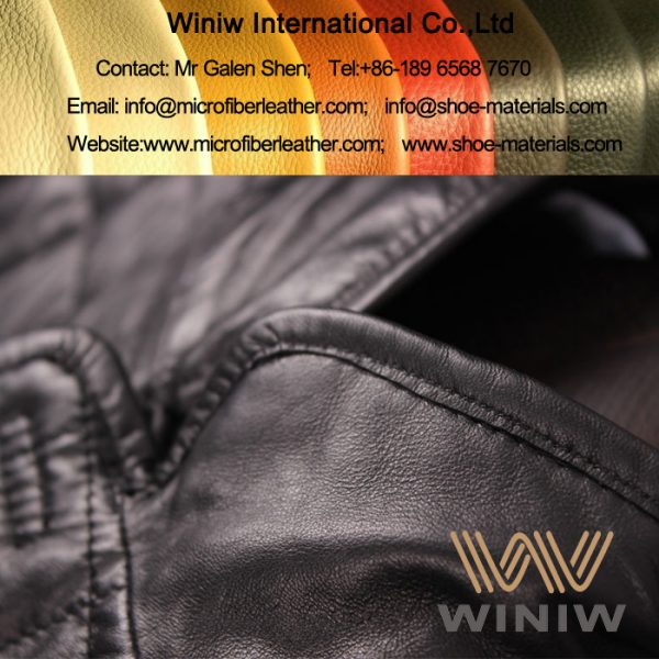 PU Microfiber Leather for Jacket