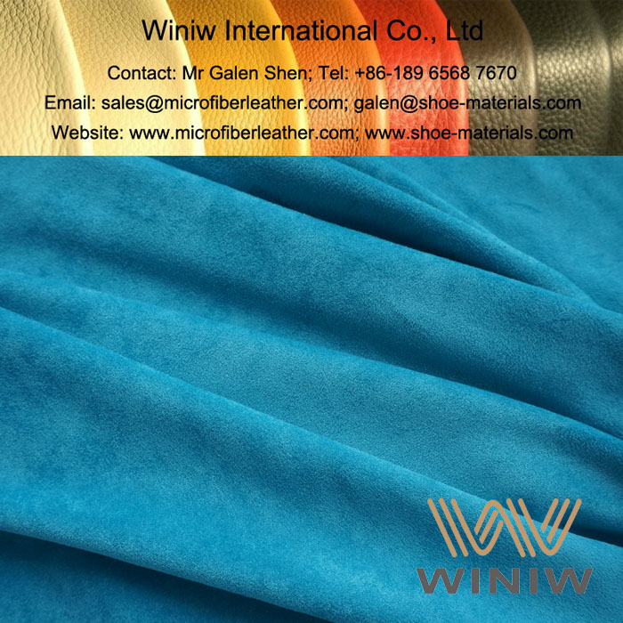 Faux Suede Leather Fabric for Clothing manufacturer