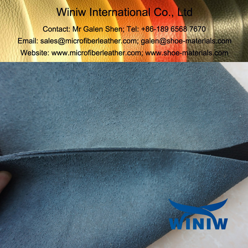 microfiber shoe upper leather