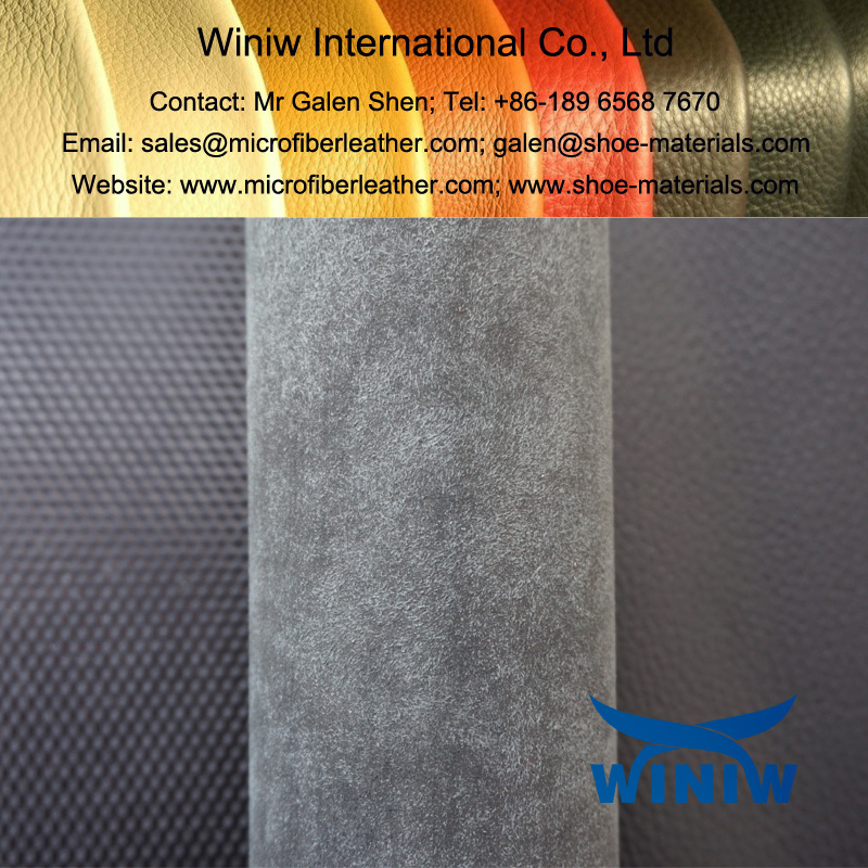 Microfiber Synthetic Leather for Safety Shoes