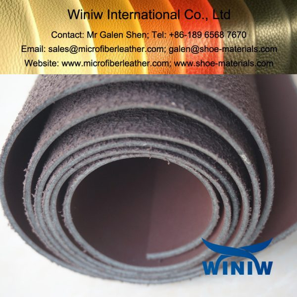 icrofiber PU Leather for Industrial Safety Shoes and Boots