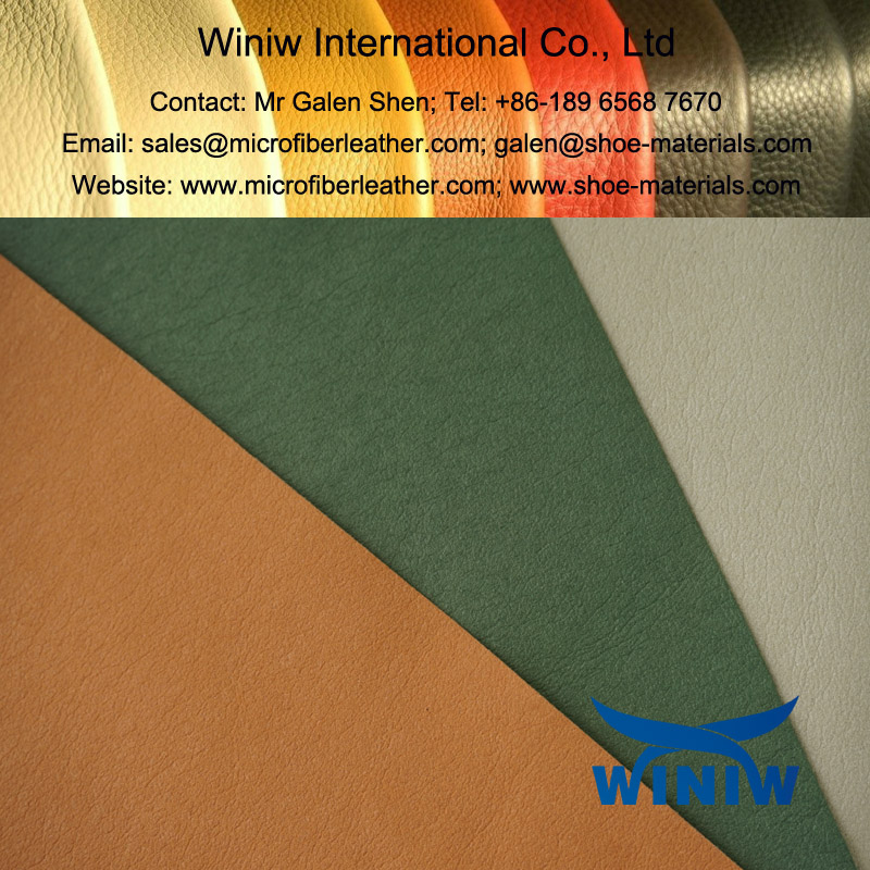 Microfiber Leather in Cowskin