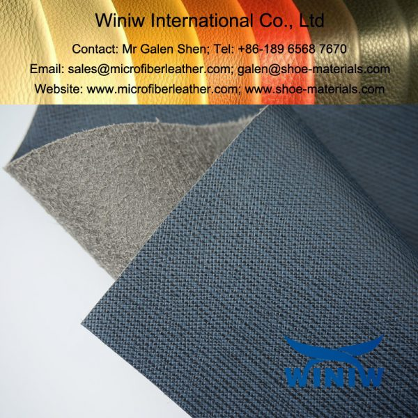 Microfiber PU Leather for Bags 017