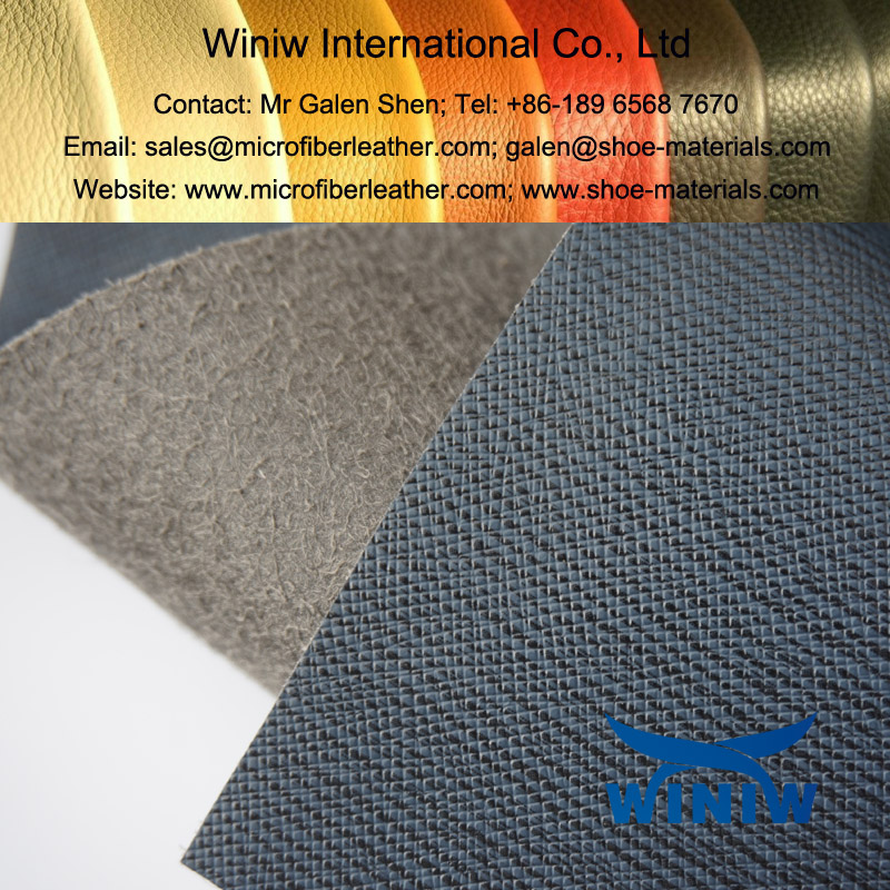 PU Microfiber Leather for Bags Making