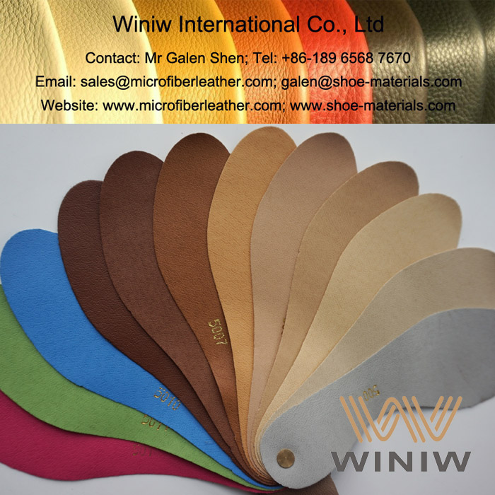 PU Microfiber Leather Lining for Shoes