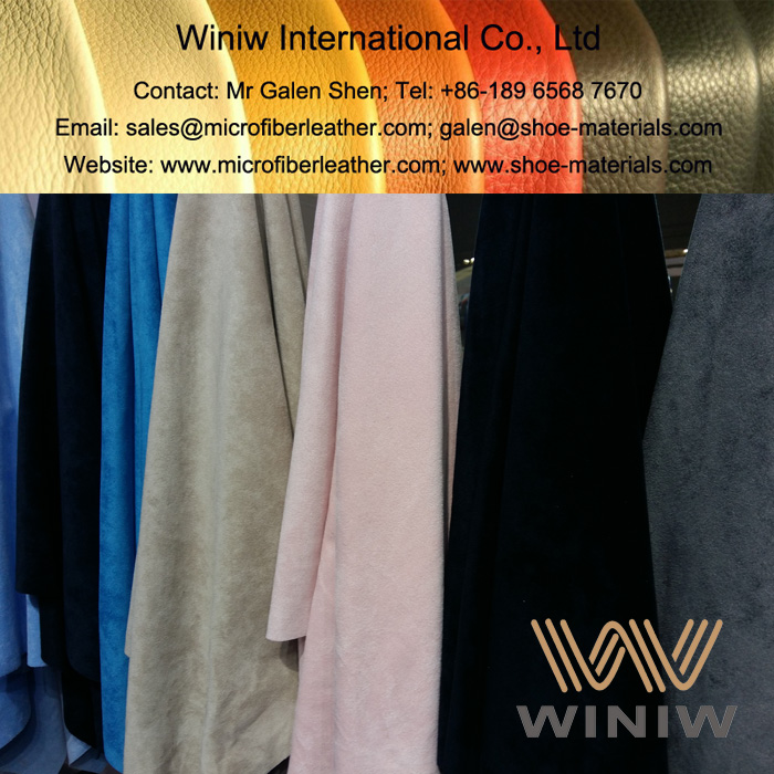 Microfiber Suede Fabric for Garments