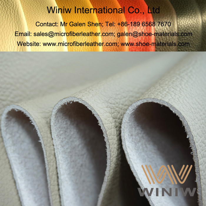 Vinyl Faux Leather Upholstery Fabric for Cars