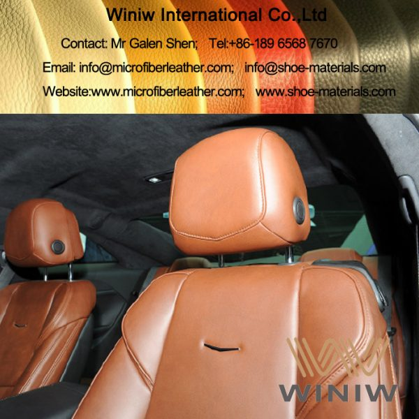 microfiber leather for automotive 001