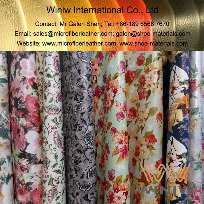 Printed PU Faux Leather for Fashion Bags
