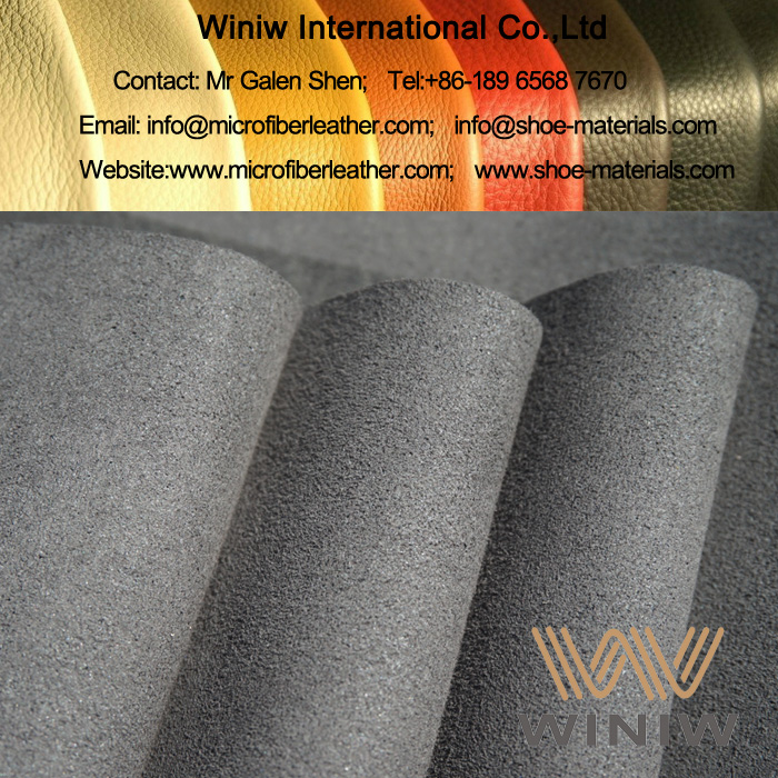 High Quality Faux Suede Leather Fabric for Automotive