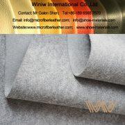 PU Microfiber Synthetic Leather for Conveyor Belt