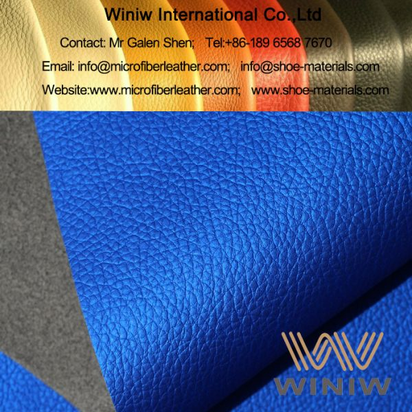 Micro Fiber Synthetic Leather for Straps