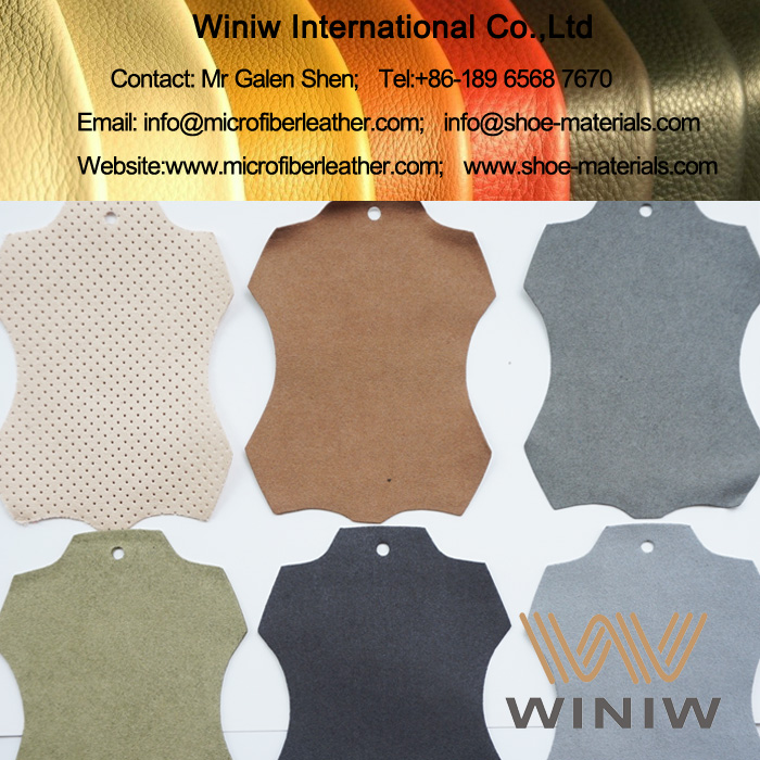 Faux Suede Micro Fiber Leather Fabric Supplier