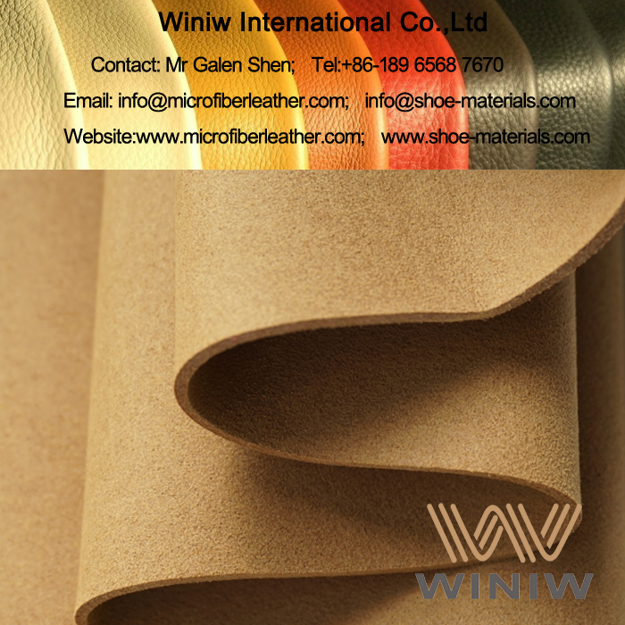 High Quality Synthetic Suede Shoe Lining Material
