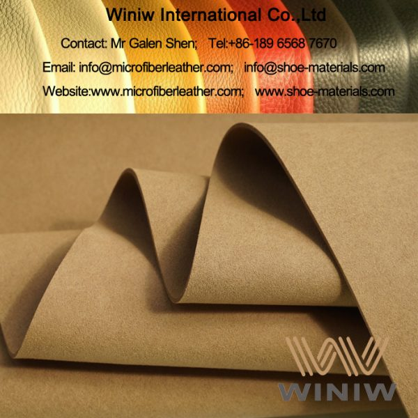 Synthetic Suede Shoe Lining Material