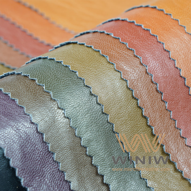 Water Based PU Synthetic Leather for Jackets