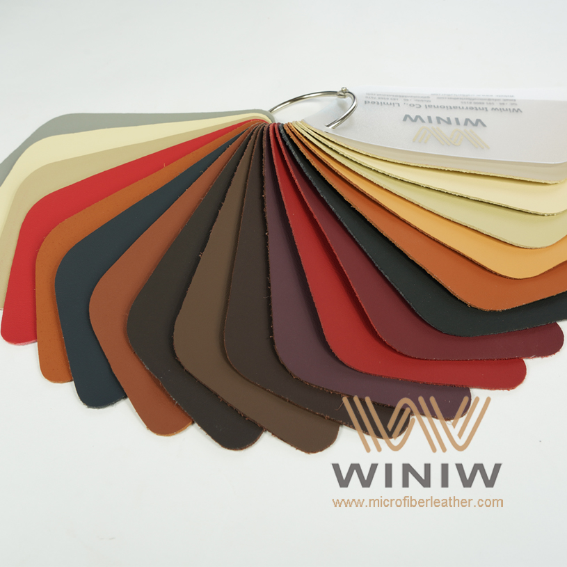 WINIW Microfiber Automotive Leather SXDB Series Color Catalog