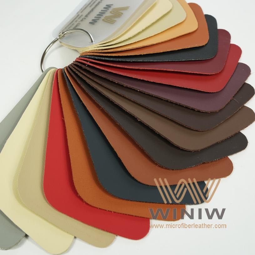 WINIW Microfiber Automotive Leather SXDB Series Color Catalog-2