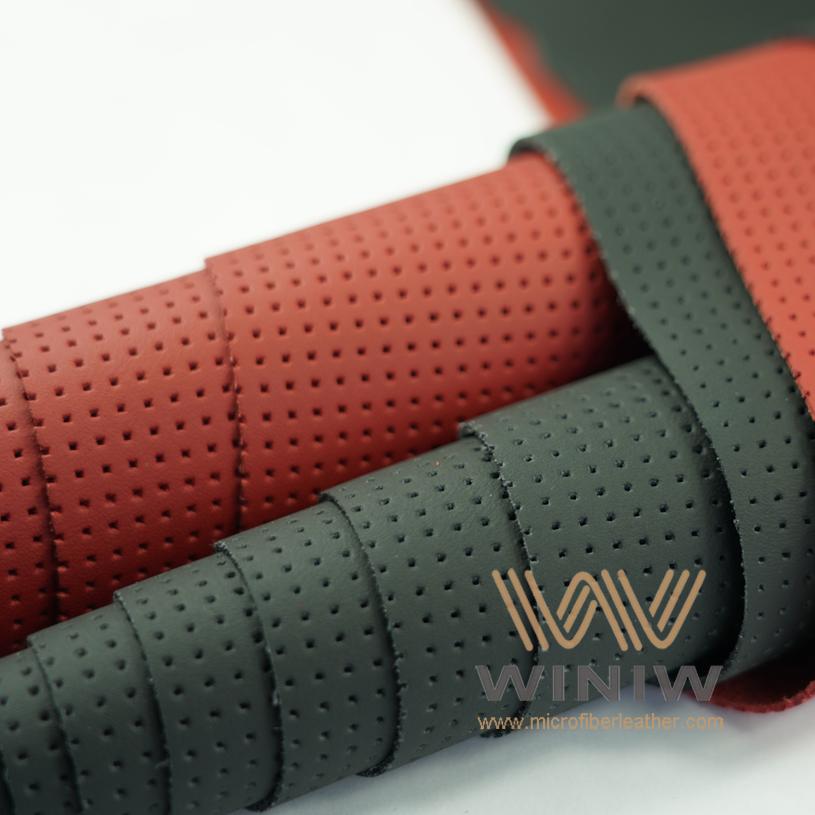 WINIW Microfiber Automotive Leather SXDB Series Black Color