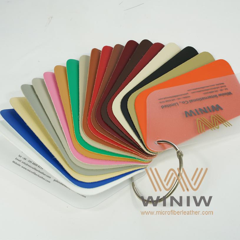 WINIW Microfiber Automotive Leather SW Series Color Catalog