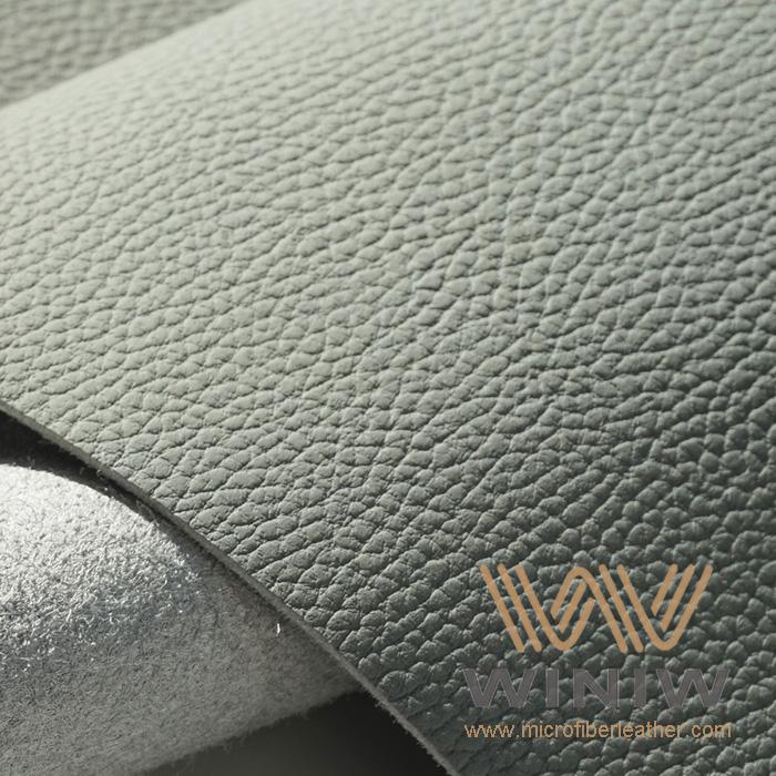 WINIW Microfiber Automotive Leather OL Series Light Grey Color -2