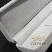 UV Resistant Microfiber Artificial Suede Leather for Jewelry Box and Display