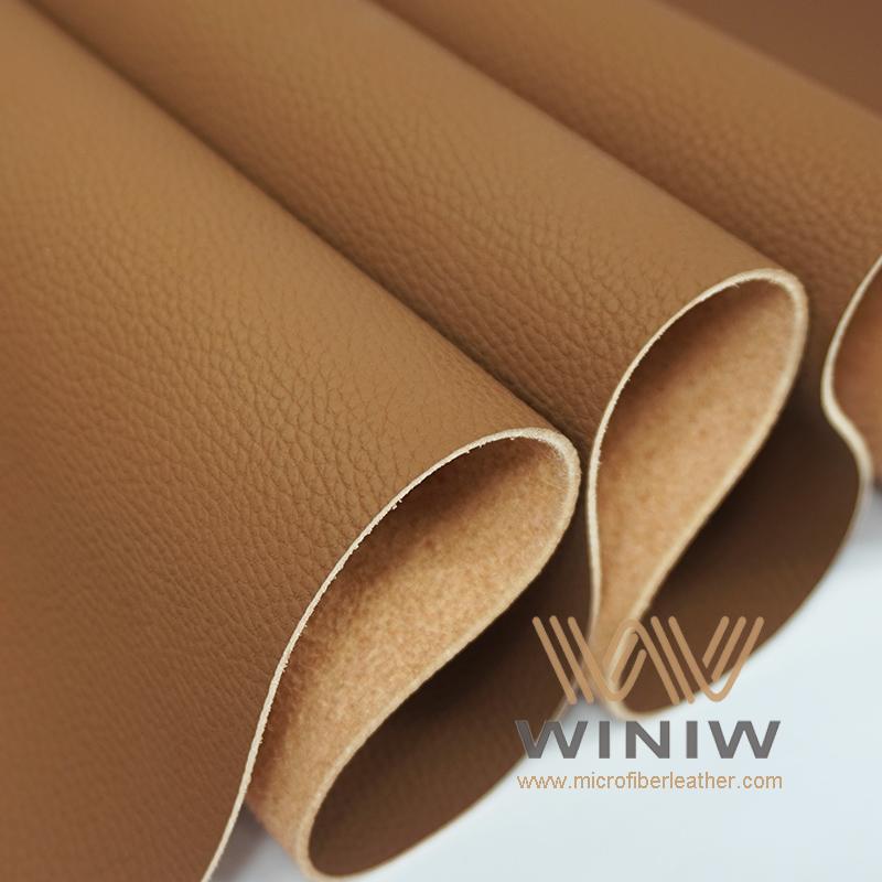 WINIW Microfiber Automotive Leather OL Series Brown Color