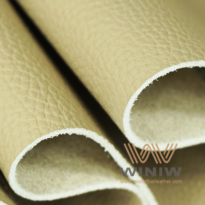 WINIW Microfiber Automotive Leather OL Series Beige Color