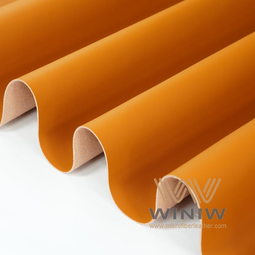 WINIW Microfiber Automotive Leather MH Series Orange Color