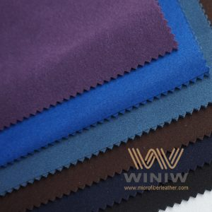 Microfiber Synthetic Suede Vegan Leather Material