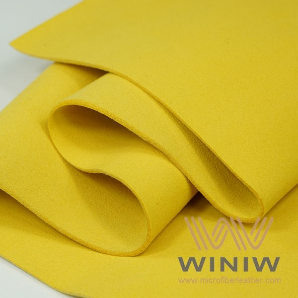 Heavy Weight Microsuede Synthetic Leather Fabric