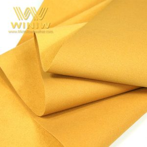Antibacterial Microfiber Shoe Lining Leather Fabric