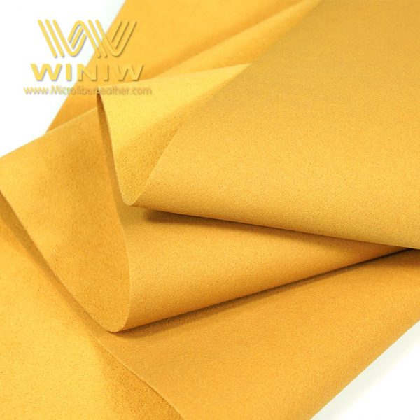 Antibacterial Microfiber Shoe Lining Leather Fabric