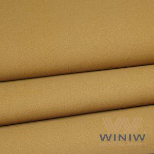 Non Color Migration Shoe Lining Leather Fabric Material