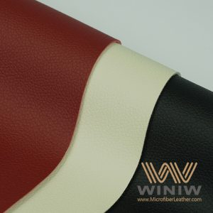 Stain Resistant Faux Leather PU Upholstery Leather Fabric for Sofa