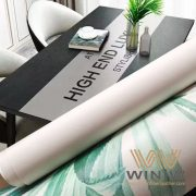 Non-Slip Vinyl PVC Faux Leather Used for Table/Kitchen Mats