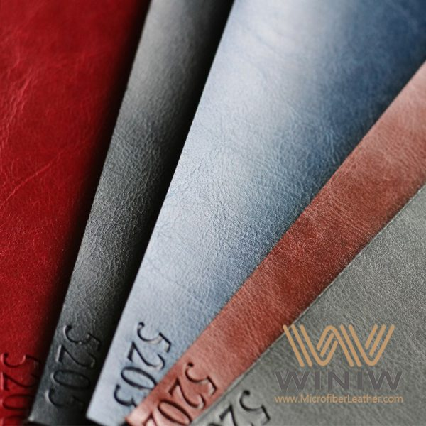 PU Base Synthetic Leather Material with Thermo Discolor