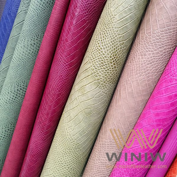 Best Quality Vegan Leather Fabric Material for Leather Goods