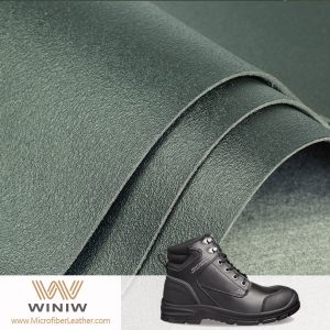 PU/Polyurethane Coated Synthetic Leather for Safety Shoes Making